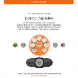 Magazine with 8 dosing Capsules